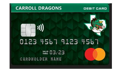 Carroll Dragons Debit Card